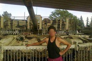 Những chiếc xe tăng T-72 được 'độ chế' vỏ giáp siêu độc đáo của Quân đội Syria