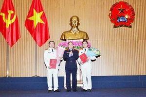 Bổ nhiệm Phó Vụ trưởng Vụ 8 và Phó Chánh Văn phòng Ban cán sự Đảng VKSND tối cao