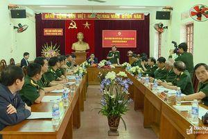 Thượng tướng Nguyễn Văn Được: Xây dựng Hội Cựu chiến binh Nghệ An ngày càng vững mạnh