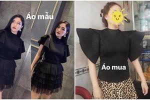 'Khóc ra tiếng Mán' vì đồ online: Cô gái xinh đẹp mua áo điệu đà nhưng nhận về lại là chiếc giáp hiệp sĩ