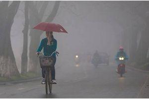 Sương mù, nồm ẩm tại Bắc Bộ bao giờ mới chấm dứt?