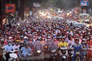 Hà Nội hạn chế xe máy tuyến Nguyễn Trãi, Lê Văn Lương mới chỉ là đề xuất