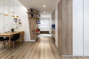 Chung cư cũ 40 năm biến thành căn hộ hiện đại siêu đẹp