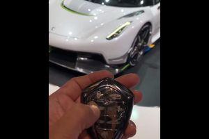 Chìa khóa cực độc của chiếc Koenigsegg Jesko