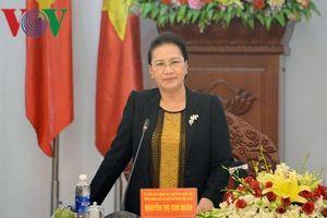 Chủ tịch Quốc hội làm việc với lãnh đạo tỉnh Gia Lai