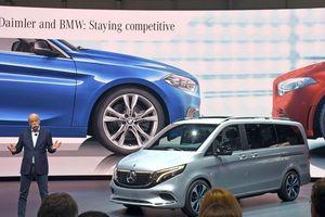 BMW và Daimler sẽ hợp tác sâu về công nghệ tự hành