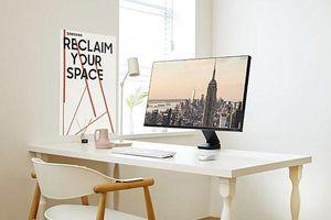 Màn hình Samsung Space giúp tăng 40% diện tích sử dụng bàn làm việc
