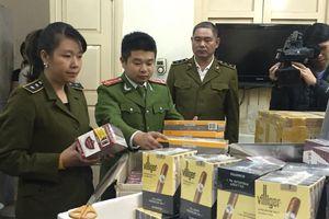 'Mạnh tay' với tình trạng buôn bán xì gà lậu