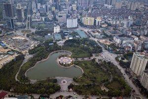 Hài hòa giữa nhu cầu đỗ xe và diện tích công viên, cây xanh