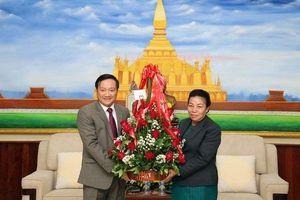 Việt Nam chúc mừng 64 năm Ngày thành lập Đảng NDCM Lào