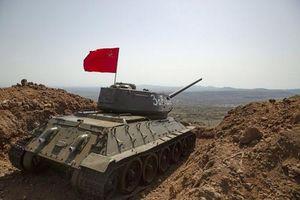 Đào thấy T-34 ở Syria, lính Nga làm hành động không ngờ