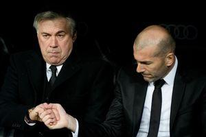 HLV Ancelotti: 'Zidane và Real Madrid là cuộc hôn nhân hoàn hảo'