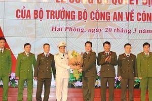 Bộ trưởng Bộ Công an bổ nhiệm Đại tá Lê Ngọc Châu giữ chức vụ Giám đốc Công an thành phố Hải Phòng