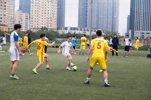 PVcomBank vô địch giải bóng đá Cụm phối hợp hoạt động miền Bắc PVN