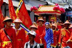 Hàng ngàn ngư dân Cà Mau tham dự Lễ hội Nghinh Ông