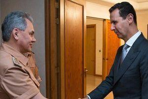 Đại tướng Shoigu mang thông điệp của Tổng thống Putin gửi lãnh đạo Syria