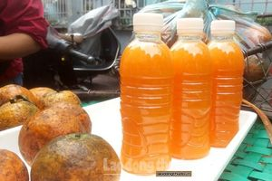 Nước cam vắt đóng chai, chất lượng liệu có đảm bảo?