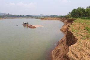 Huyện Yên Định, Thanh Hóa: Sông Mã ngày đêm bị 'rút ruột'