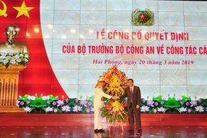 Bổ nhiệm ông Lê Ngọc Châu làm Giám đốc công an thành phố Hải Phòng