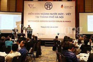 Việt - Đức: Hợp tác đầu tư trong lĩnh vực ngành nước