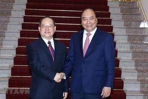 Thủ tướng đề nghị doanh nghiệp lớn của Quảng Tây tăng cường đầu tư tại Việt Nam