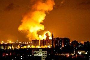 Israel bất ngờ dội lửa vào cứ điểm Hamas ở Gaza