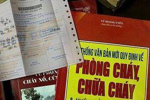 Cảnh giác với trò lừa đảo mua tài liệu phòng cháy, chữa cháy