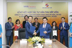 SHB Finance và SHS ký kết thỏa thuận hợp tác tư vấn thu xếp vốn