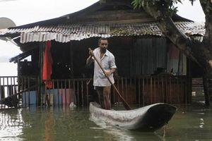 Nạn nhân thiệt mạng do lũ lụt và lở đất tại Indonesia tăng lên 107 người