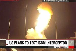 Mỹ lên kế hoạch thử nghiệm tên lửa có khả năng bắn hạ ICBM