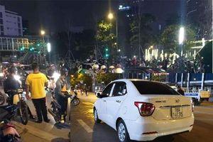 Thông tin mới nhất vụ lái xe ô tô rút dao đâm người trên đường Nguyễn Chí Thanh
