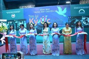 TP Hồ Chí Minh: Khai mạc trưng bày chuyên đề 'Tìm lại ký ức'