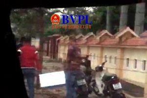 Xuất hiện video ghi lại diễn biến vụ cướp hồ sơ dự thầu ở Quảng Bình