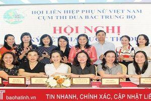 Cụm thi đua Hội Phụ nữ Bắc Trung bộ hành động vì năm 'An toàn cho phụ nữ và trẻ em'