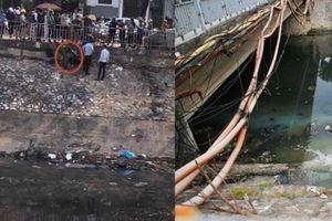 Nhảy sông Tô Lịch tự tử, cô gái lên bờ nôn mửa vì nước quá hôi thối