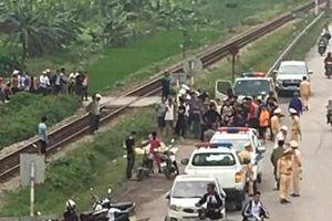 Hải Dương: Xe máy va chạm tàu hỏa, hai phụ nữ tử vong