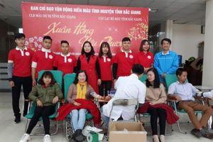 Bắc Giang tổ chức thành công Chiến dịch hiến máu tình nguyện dịp Tết và Lễ hội Xuân hồng