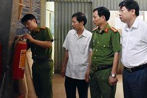 Giám sát việc thực hiện pháp luật về PCCC tại Ninh Bình