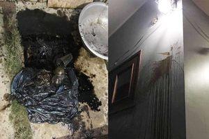 Gia đình một nhà báo ở Hà Tĩnh bị kẻ xấu ném 'bom bẩn'