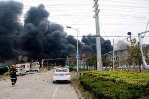 Ít nhất 44 người thiệt mạng trong vụ nổ nhà máy hóa chất ở Trung Quốc