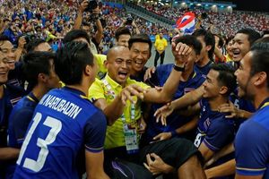 Tuyển U23 Thái Lan - bại binh phục hận