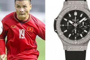 Quang Hải và 2 tuyển thủ phá lưới U23 Brunei là 'dân chơi hàng hiệu'