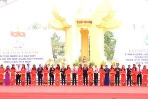 Khánh thành Khu Di tích quốc gia đặc biệt Bộ Chỉ huy Quân Giải phóng miền nam Việt Nam
