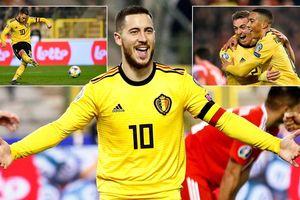 Bỉ - Nga 3-1: Courtois sai lầm, Youri Tielemans, Eden Hazard rực sáng
