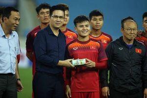 Chưa thi đấu, U23 Việt Nam đã nhận thưởng nóng nửa tỷ khích lệ tinh thần
