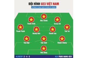Đội hình U23 Việt Nam đấu Brunei: Đôi cánh thiên thần được lắp sẵn