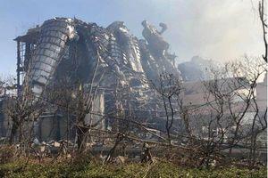 Nổ nhà máy hóa chất ở Trung Quốc: Số người thương vong lên đến 134
