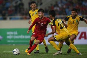U23 Việt Nam 6-0 U23 Brunei: 'Cơn mưa' bàn thắng trên sân Mỹ Đình