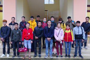 Bàn giao vụ án tổ chức đưa người vượt biên trái phép sang Trung Quốc cho cơ quan Công an xử lý