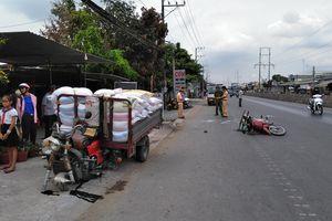 Mang họa chết người vì xe máy nổ lốp